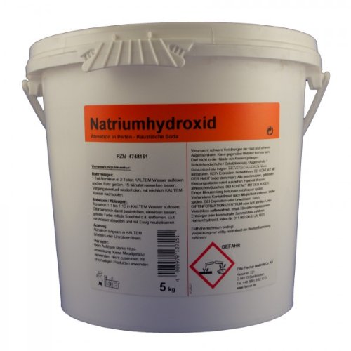 Natriumhydroxid techn. 5 Kg