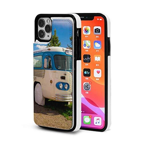 ZHANGhome Flip Cover Case EIN Alter klassischer Camper Van Leder Flip Cover mit Kreditkartensteckplatz Flip Folio für 2019 iPhone 11 / pro/pro max