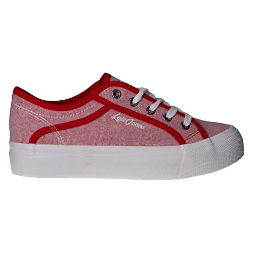 Lois Jeans Deportivas 61245 Rojo 39 para Mujer