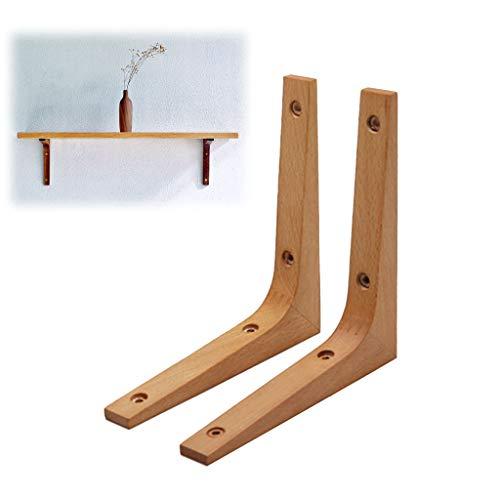 KKYY 2 StüCke Regal Halterung Holz Regale Halterung 90 Grad Winkel Wand Regal UnterstüTzung Halterung Rahmen Senden Befestigung ZubehöR (Board Nicht Enthalten)
