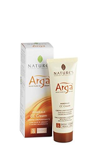 Bios Line Arga' Cc Cream, Medio Chiara, Spf 15-20 g