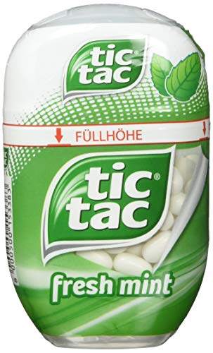 tic tac fresh mint Big-Pack, 8er Pack (8 x 98 g Packung)
