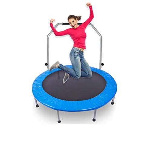 OFFA Cama Elastica Fitness, 40' Plegable Gimnasia Trampolín, for Adultos Niños De Los Niños De Interior Trampette Rebote, Bungee Jumping Rebounder Entrenamiento Máximo De 881lbs De Carga