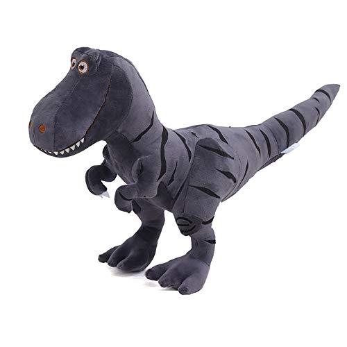 LYXBWT Muñeco de Dinosaurio Tyrannosaurus Juguete de Felpa muñeca de Juguete para niños muñeca 30 cm * 45 cm Gris