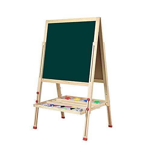 xcxc Kunst Staffelei für Kinder Kunst Kunst Staffelei für Kinder Zweiseitige höhenverstellbare Zeichnung Kinderzimmer und Kleinkind Junior Schlafzimmer Lernspielzeug Geschenke für Kinde
