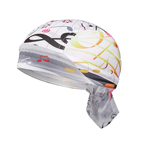 Asudaro Gorra unisex de pirata, para equitación al aire libre, pañuelo para la cabeza, gorro para bicicleta, protección UV, pañuelo pirata, gorro para correr, gorro funcional, diseño 8, Talla única