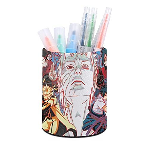 Sasuke, Naruto soporte para bolígrafos, organizador de escritorio, taza para bolígrafos, organizadores de escritorio de oficina y accesorios