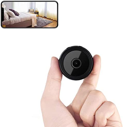 Mini Spy Camera Wireless Hidden Camera Home WiFi Security Nanny Cameras with Cell Phone App product image