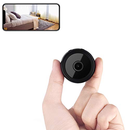 Mini Spy Camera Wireless Hidden Camera Home WiFi Security Nanny