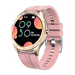 Fitness Tracker, Heart Rate Monitor Color Screen Waterproof Smart Watch Step Calorie Counter Pedometer Bluetooth Activity Tracker for Women Men
