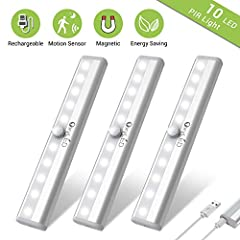 USB RECHARGEABLE, MICRO USB CABLE INCLUDED: These OxyLED indoor step lights are powered by built-in rechargeable 3.7V 450mAh battery. Micro USB cable is included, so that you can simply recharge it with any national standard USB charger, mobile phone...