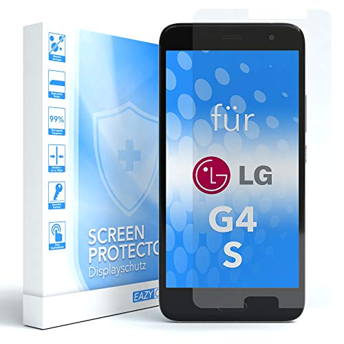 EAZY CASE 1x Panzerglas Bildschirmschutz 9H Festigkeit für LG G4 S, nur 0,3 mm dick I Schutzglas aus gehärteter 2,5D Panzerglasfolie, Bildschirmschutzglas, Transparent/Kristallklar