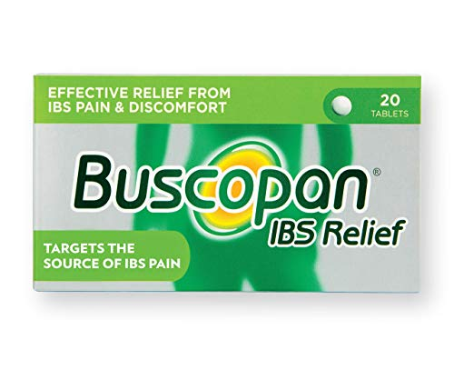 Buscopan IBS Relief Hyoscine Butylbromide 20 Tablets 3120383