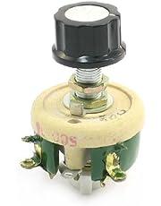 El potenciómetro bobinado de cerámica variable reostatos Resistencia 25W 500 Ohm