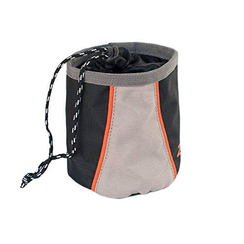 ZippyPaws - Portable Belt Adventure Dog Treat Bag - Volcano Black