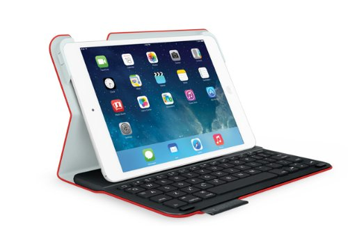 Logitech 920-006141 7.9Zoll Blatt Rot Tablet-Schutzhülle - Tablet-Schutzhüllen (Blatt, Apple, Apple iPad Mini Apple iPad Mini with Retina Display, 20,1 cm (7.9 Zoll), 285 g, Rot)