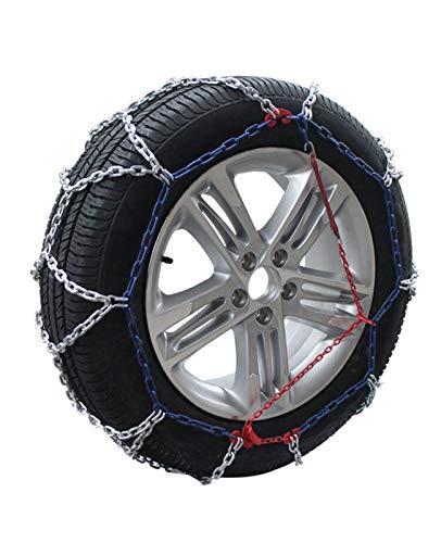 Rueda de coche neumático cadena de nieve Cadenas antideslizantes de neumáticos de nieve, coche de tracción de emergencia portátil, Cadenas de nieve de invierno de automóvil Camión SUV for camiones ant