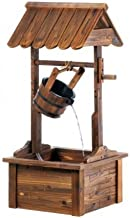 Stonegate Designs Wooden Wishing Well Fountain - Square Base, Model Number DSL-2406