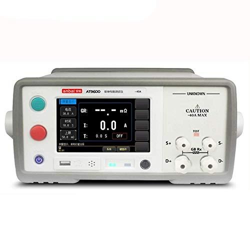 LIPENLI Instrumento industrial AT9600 AC resistencia de tierra probador de alta precisión