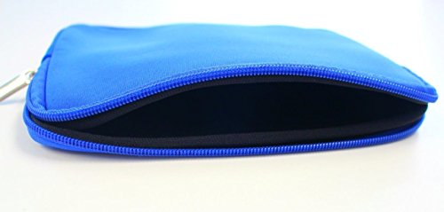 Manna24 Tablet Tasche Neopren Schutzhülle bis 7,5 Zoll Archos 70 Xenon Color Blau