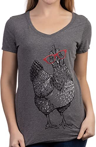 Chicken wearing glasses _image0
