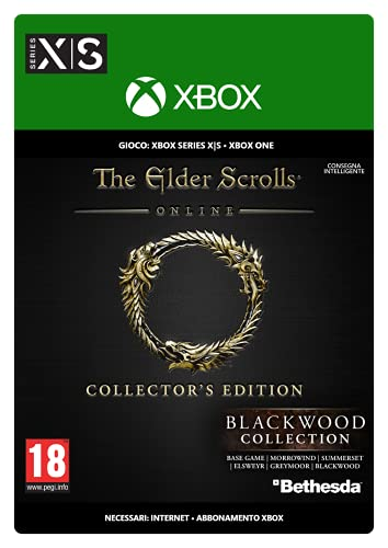 The Elder Scrolls Online Collection Blackwood Collector's Edition   Xbox - Download Code