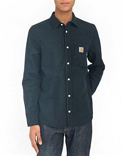 Carhartt WIP L/S Tony Shirt - Dark Navy Medium Dark Navy