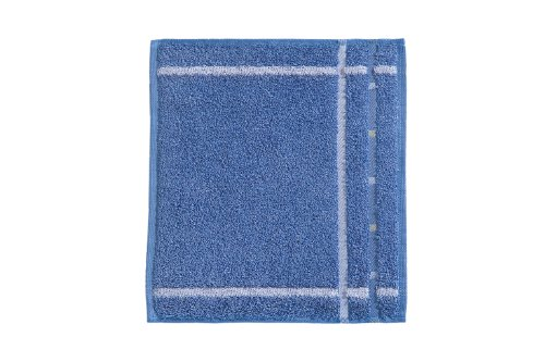 Vossen Quadrati Uni Waschlappen/Seiftuch 3er Set Größe: 30 x 30 cm Farbe: 050 / Aqua/weiß