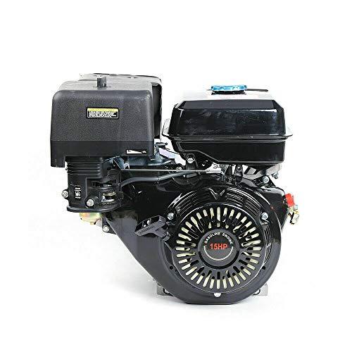 Motor de gasolina Generic 15 CV, Zephyri de 4 tiempos, 420 CC, motor de un cilindro, motor de gasolina, pato, motor de estacionamiento, herramienta agrícola perdurable