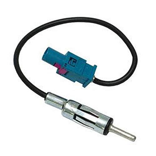 Adaptateur D ANTENNE FAKRA Male DIN Male PSA VAG Compatible avec BMW GM Renault Mercedes etc.