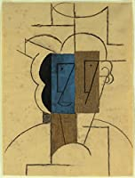 Pablo Picasso ジクレープリント キャンバス 印刷 複製画 絵画 ポスター (帽子を持つ男)