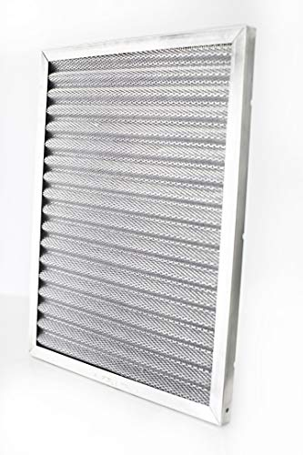 20x20x1 | Trophy Air | Merv 8 | Washable Furnace Filter | Lifetime HVAC & Furnace Air Filter | Washable Electrostatic | High Dust Holding Capacity | Premium Quality Aluminum