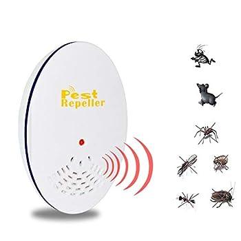 ZXL Ultrasons Anti-moustiques fiche Professionnelle Anti-Insectes ultrasonique, insectifuge électronique (1/3/5 pièce) - insectifuge, Puce, Souris, pourriture, tremblement, Fruit, etc,1