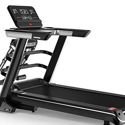 NXX Laufband Klappbar 56Cm Breite Lauffläche Und Steigung Selbstschmierend Und Leise 8 Km/H-, Kalorienzähler, Pulssensor