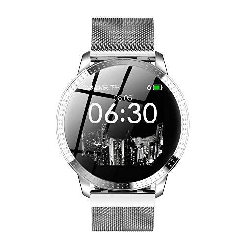 Bestbuy_2018 Intelligente Uhren, wasserdichter Aktivitätstracker mit Schrittzähler, Uhr und Schlafmonitor, Kalorienzähler für Frauen Männer, Smartwatches