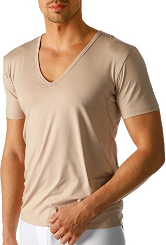Mey - Herren V-Neck Business Shirt ''Dry Cotton Functional'' beige/Light Skin (Das ''Drunterhemd'') 6