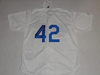 Jackie Robinson Signed Jersey - Chadwick Boseman #42 42 Coa - JSA Certified - Autographed MLB Jerseys