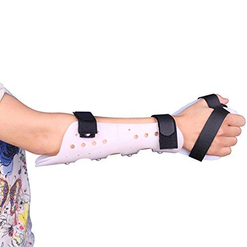 WANGXN Articulación del Codo Soporte Fijo Abrazadera Esguince de muñeca Equipo de protección Ajustable Soporte de ortesis para Miembros Superiores,Light