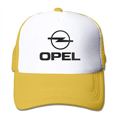 New Customized Opel Logo Funny Casquette for Mens Trucker Hats Black,Sombreros y Gorras
