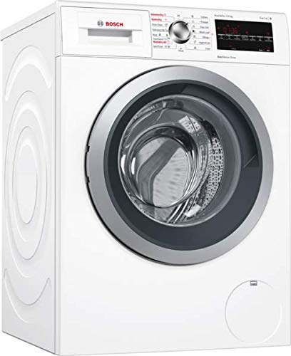 Bosch Serie 6 WVG30462GB Freestanding White Washer Dryer with 1500rpm Spin Speed, A Energy, HygieneCare and EcoSilence Drive