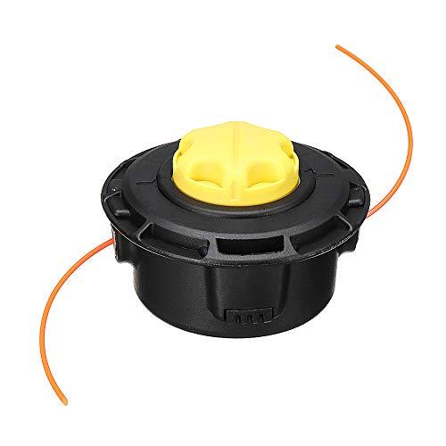 LMIAOM Trimmer Head Easy Reel Strimmer Spool Line Amarillo para RYOBI 5132002578 RAC115 Cortacésped Accesorios de hardware Herramientas de bricolaje