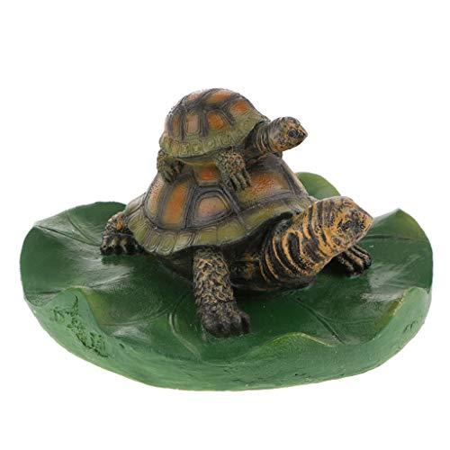 Homyl Schwan schwimmend Dekoschwan Schwimmfigur, Ideal für Garten Teich Rasen Deko Schwimmfigur Teichdeko der Hingucker im Teich - 4# hellbraune Familie