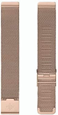 Fitbit Inspire 2 Stainless Steel Mesh Rose Gold Stainless Steel one Size product image