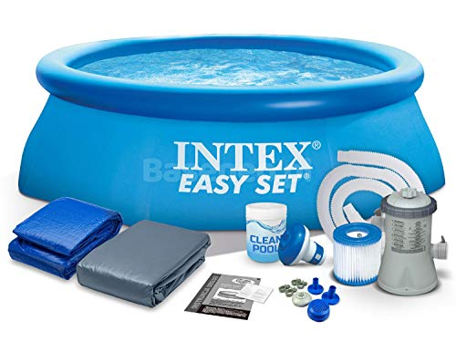 PolBaby INTEX 28112 244x76 cm 7in1 Easy Set Pool Set