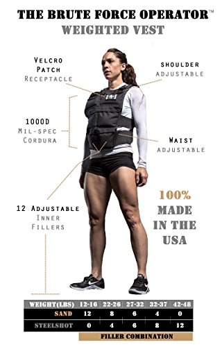 Brute Force Weighted Vest