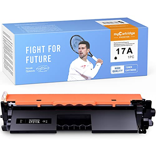 myCartridge PHOEVER CF217A Toner Compatible para HP 17A CF217A Toner para HP Laserjet Pro M102W M130fn M102A M130nw M130fw M130a MFP-M130fw M130nw M130a Impresora (1 * Negro)