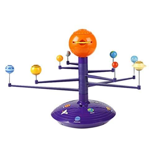 FUSTMS DIY Science Discovery Kit 3D Solar System Astronomisches Modell Sicherheit Kinder Technik Spielzeug