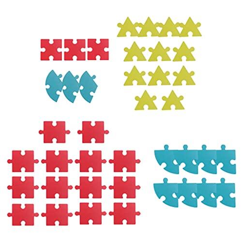 sharprepublic 40 Piezas Rompecabezas para niños de 4 a 8 años, Rompecabezas de Madera de 3 a 5 años, Juguetes de Rompecabezas, Regalos educativos para niños