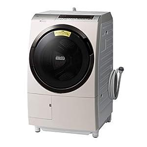 """日立 ドラム式洗濯乾燥機 ビッグドラム 洗濯11kg/洗濯~乾燥6kg 左開き 液体洗剤・柔軟剤 自動投入 BD-SX110..."""""""