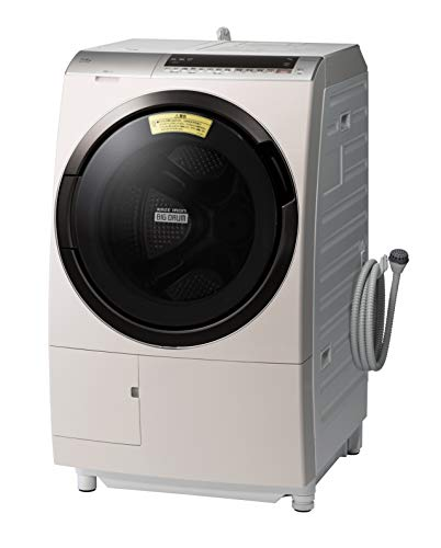 日立 ドラム式洗濯乾燥機 ビッグドラム 洗濯11kg/洗濯~乾燥6kg 左開き 液体洗剤・柔軟剤 自動投入 BD-SX110EL N ロゼシャンパン